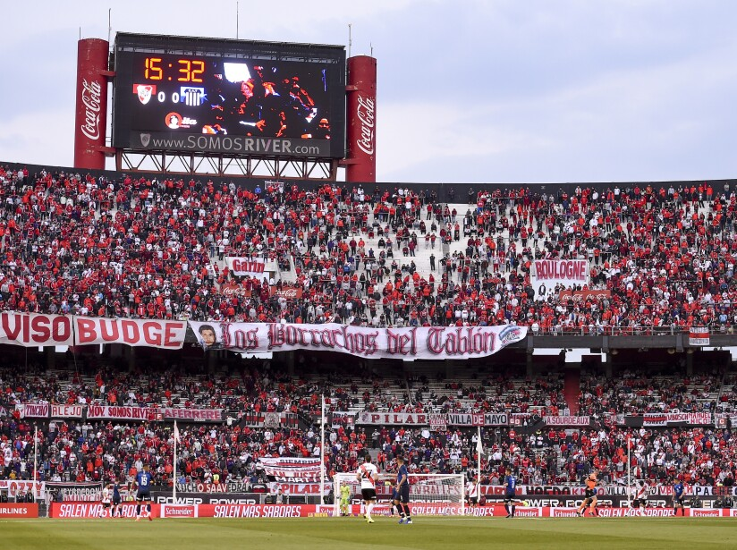 River Plate v Talleres - Superliga 2019/20