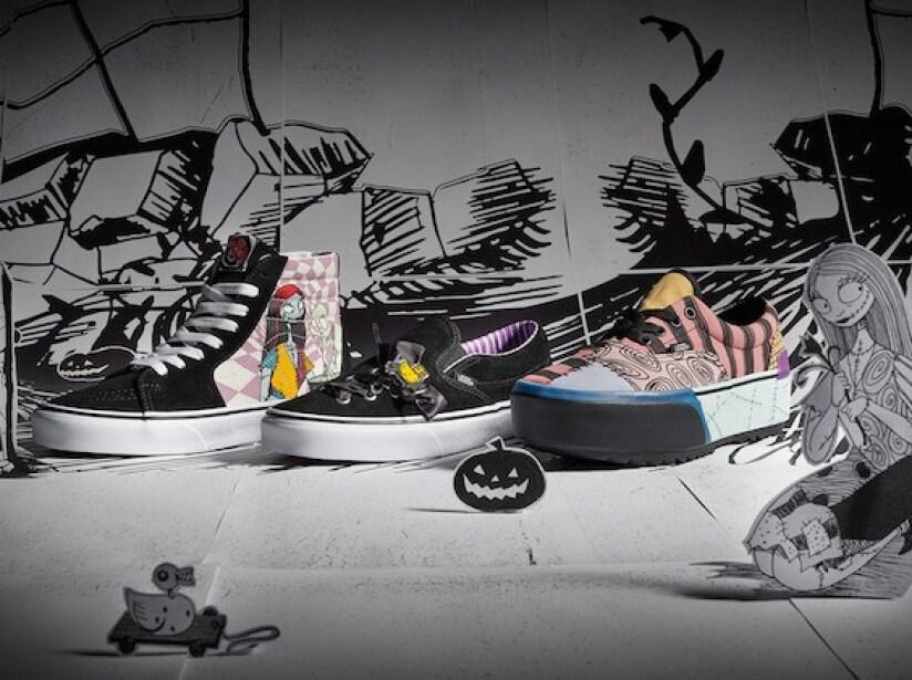 Revelan más imágenes de los Vans de El Extraño Mundo de Jack