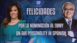 Adriana Monsalve y Luis Omar Tapia, nominados a los Sports Emmys