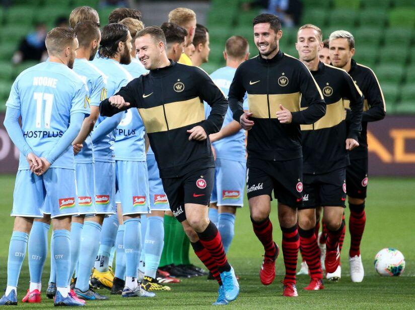 A-League Rd 23 - Melbourne v Western Sydney