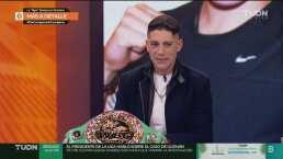 ¡Exclusiva! La campeona Alejandra Jiménez en Más Deporte
