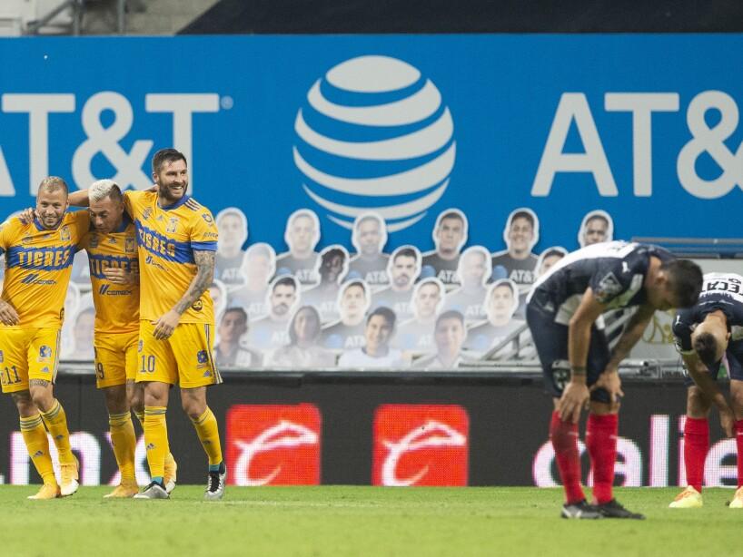 Gignac feliz Tigres contra Rayados