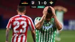 Atlético de Madrid sufre, pero vence a Betis de Guardado y Lainez