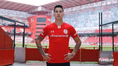 Diego Rigonato, brasileño de 31 años, es nuevo jugador del Toluca procedente del Al-Dhafra. Llega para reforzar la banda izquierda de Los Diablos.