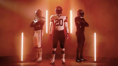 Así luce la nueva imagen de los Browns, con algunos ajustes en las combinaciones y cambio de tipografía de los números.