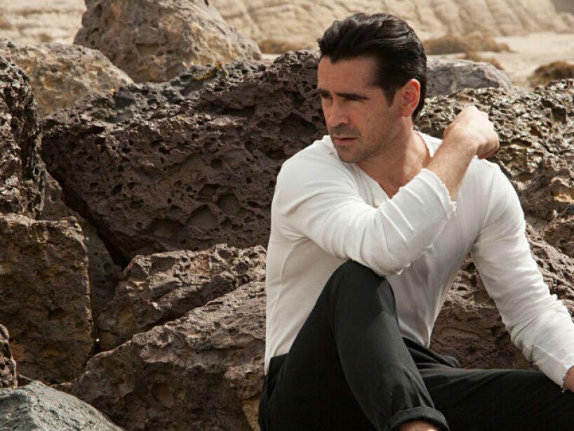 2. Colin Farrell: Siempre anda con un cigarrillo entre sus labios, su cabello sucio y ropa desalineada.