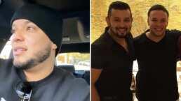 'Se nos fue un grande': Entre lágrimas, Lorenzo Méndez lamenta la muerte de su amigo Jerry Demara