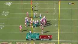 Gol de campo para los Dolphins y el juego ya va 24-7