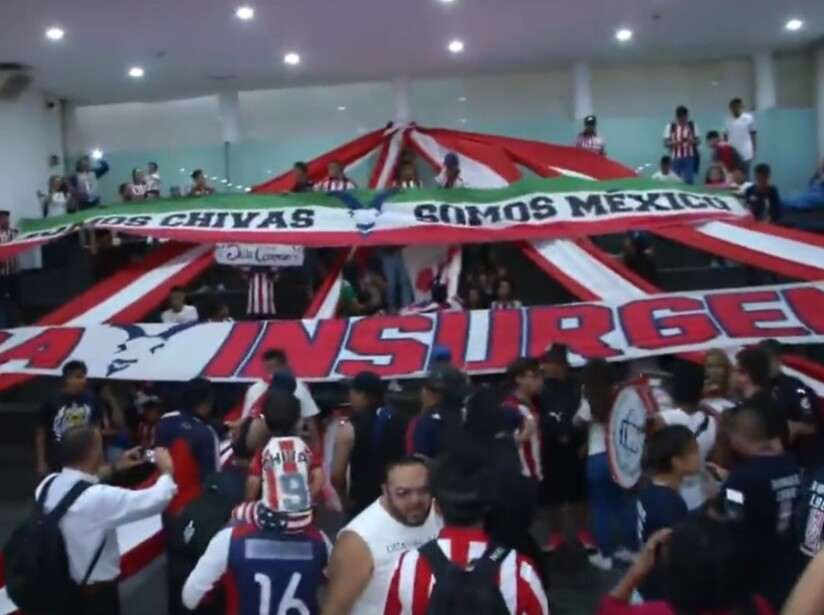 Previo al encuentro de la jornada 8 contra Cruz Azul, los aficionados alientan al rebaño.