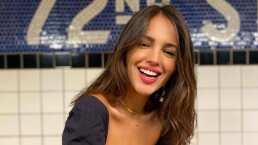 Eiza González enamora con su voz al cantar 'I See The Light' de 'Enredados'