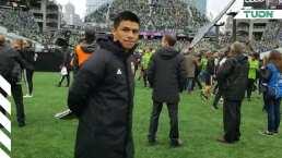 Gonzalo Pineda salda deuda con fans de Seattle