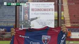 Este es el reconocimiento que el Atlante le dio a Félix Fernández