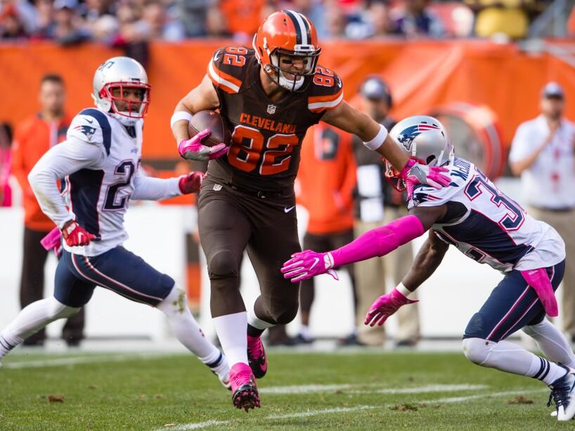 New England Patriots v Cleveland Browns