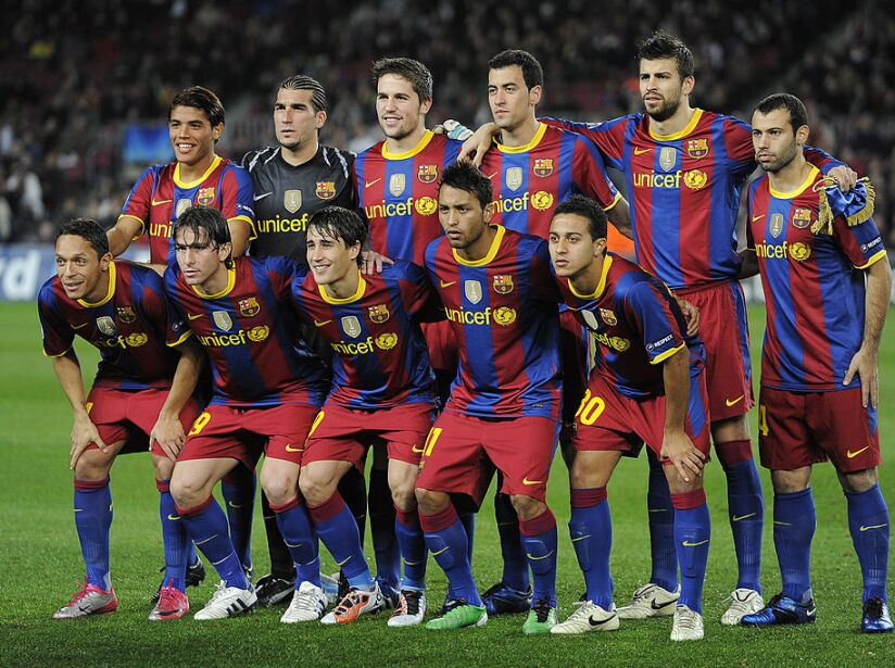 Barcelona v Rubin Kazan - UEFA Champions League