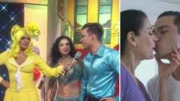 ¿Romance? Galilea Montijo exhibe el beso entre Lourdes Munguía y su pareja de baile 40 años menor
