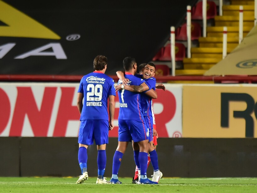 Liga BBVA MX Clausura GUARD1ANES 2021 Necaxa vs Cruz Azul