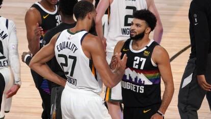 Los Nuggets consiguen la hazaña y con un marcador de 78-80 a favor, los Denver Nuggets eliminan al Utah Jazz de los Playoffs.