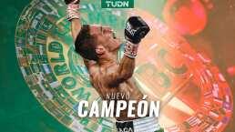 ¡KO! Valdéz nuevo campeón mundial Superpluma