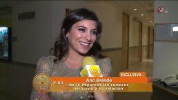 Ana Brenda Contreras, tranquila después de la calcelar boda