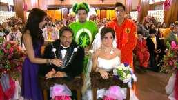 La Familia P.Luche y los Derbez se juntaron en este episodio