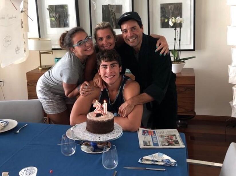 Lorenzo, el hijo mayor de Chayanne, celebró su cumpleaños con su familia