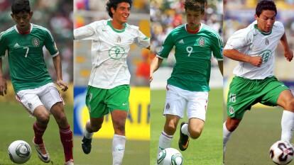 México ha sido campeón del mundo sub-17 en dos ocaciones, aquí te presentamos el XI ideal de las selecciones mexicanas sub-17.