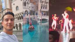 Vadhir Derbez se va a Las Vegas y comparte un poco de su viaje con sus fans