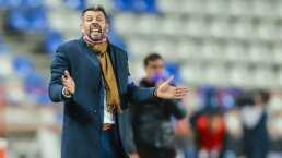 Pezzolano destaca que no está contento con el triunfo de Pachuca