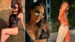 """Belinda reaparece en TikTok bailando reguetón y luciendo sus bikinis más sensuales: """"Me puse flamenkita"""""""