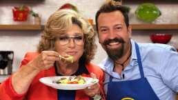 """Cocina de Hoy: Angélica María iluminó el foro de """"Hoy"""" con su presencia y carisma"""