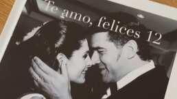 Mayrín Villanueva sorprende a Eduardo Santamarina con romántico regalo por sus 12 años de casados