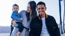 ¿Broma? Chicharito marca 'golazo' y anuncia nuevo bebé