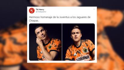 ¿Juventus copia playera de Jaguares de Chiapas?