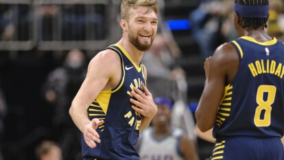 Indiana Pacers 119-80 Charlotte Hornets