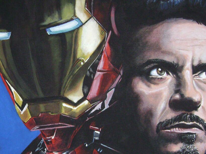 1. Anthony Edward Stark, Iron Man: Un niño prodigio, que a los 15 años estudia ingeniería mecánica y ciencias de la computación.