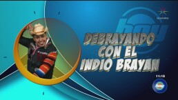 Brayan, indio y aventurero