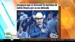Descubre qué opina Julión Álvarez de los chismes en los que lo han involucrado