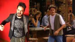 Video: José Eduardo recrea icónica frase de 'Chandler' en Friends