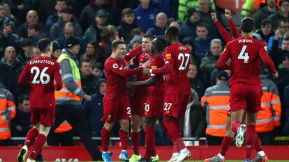 Exhibición de los Reds para vencer con categoría al rival de toda la vida en un juego de siete goles, 5-2 a favor de los de Anfield.