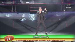 ¡Así fue el concierto de Carlos Rivera en el Coloso de Reforma!