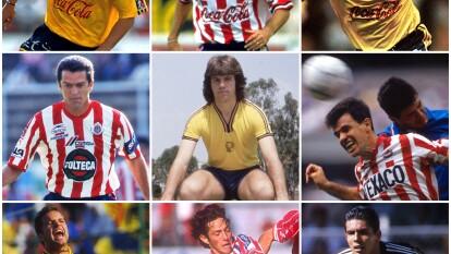Jugadores que han vestido las camisetas de Chivas y América