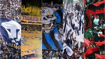 Estas son las cinco aficiones más imponentes del futbol mexicano.