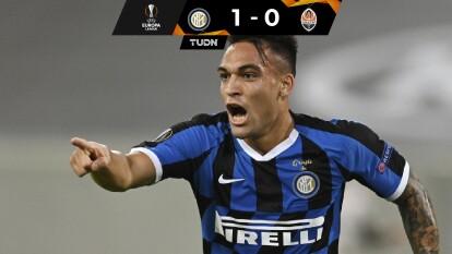 Con goles de Nicolo Barella y Romelu Lukaku, el Inter gana y consigue su pase a las semifinales del la UEFA Europa League.
