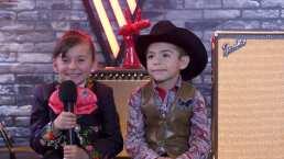 María José y Roberto del Team Lucero agradecidos por ser finalistas de La Voz Kids