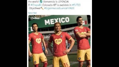 En el cumpleaños de Gómez Bolaños, recordamos los homenajes que los futbolistas le han rendido.  | EA Sports, en el videojuego FIFA 20, creó el 'Chapulín Colorado Kit'; 'no contábamos con su astucia'.