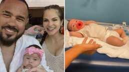 Natti Natasha por poco termina llorando al llevar a su bebita a vacunar