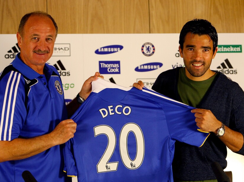 Chelsea Press Conference with Deco