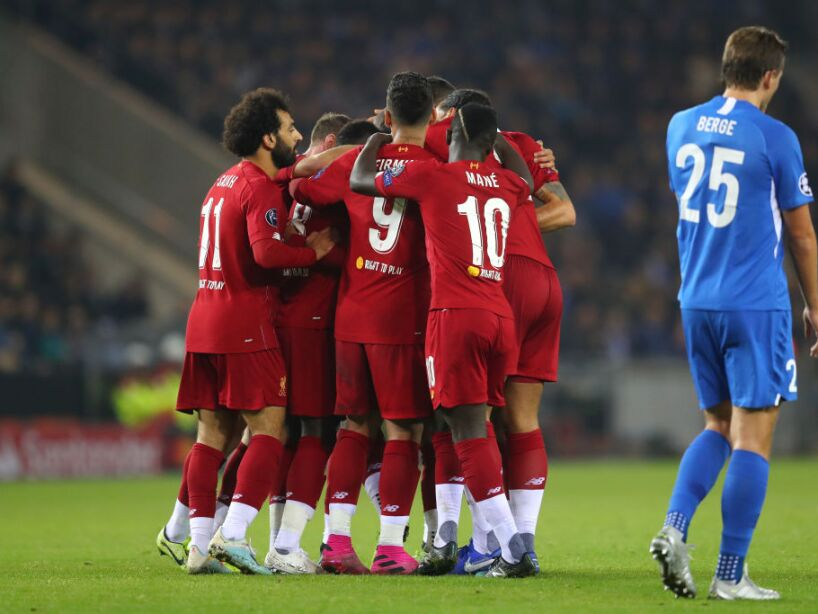 KRC Genk v Liverpool FC: Group E - UEFA Champions League