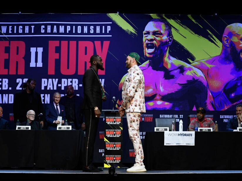 Deontay Wilder v Tyson Fury - Press Conference