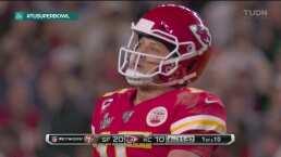 Los Chiefs se desmoronan tras la segunda intercepción a Mahomes